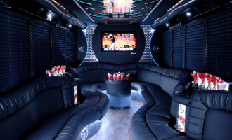 18 people party bus Ft Myers