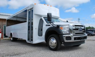 22 Passenger party bus rental Ft Myers