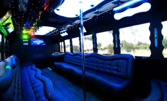 40 people party bus Fort Myers