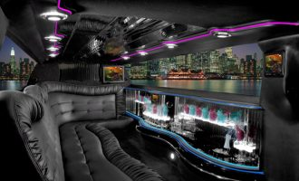 Chrysler 300 Ft Myers limo interior