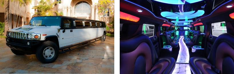 hummer limo service greenville