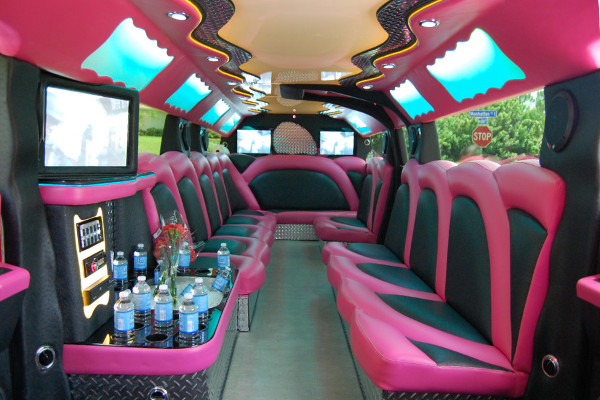 Pink Hummer Limousine Service Ft Myers Party Bus