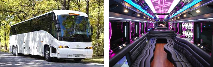 wedding party bus rentals