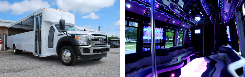 wedding party buses