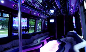 22 person party bus