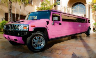 pink hummer limo rental