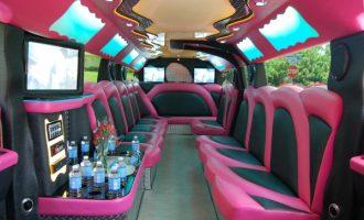pink hummer limousine rental