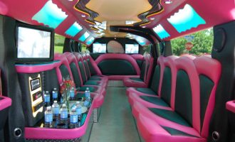 pink hummer limousine service